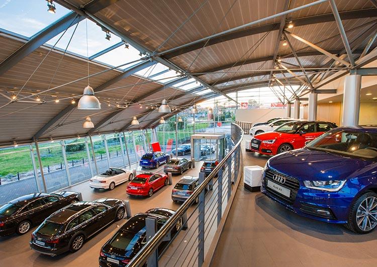 Exposición Audi en Marbella