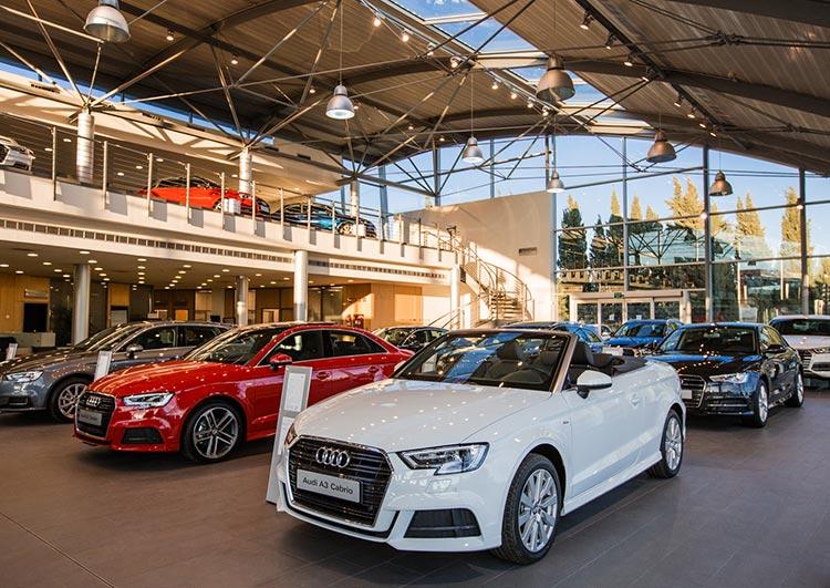 Instalaciones Audi en San Pedro de Alcántara