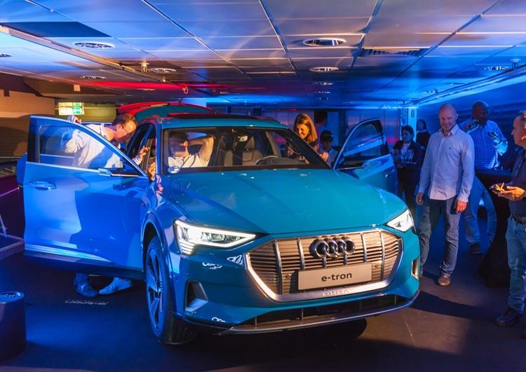 Presentación e-tron Audi Safamotor