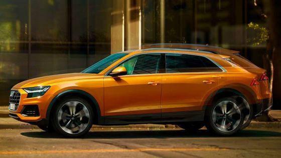 Audi Q8 desde 845€/mes