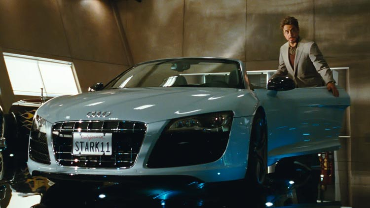 Audis de cine, los modelos que más salen en pelis de Hollywood