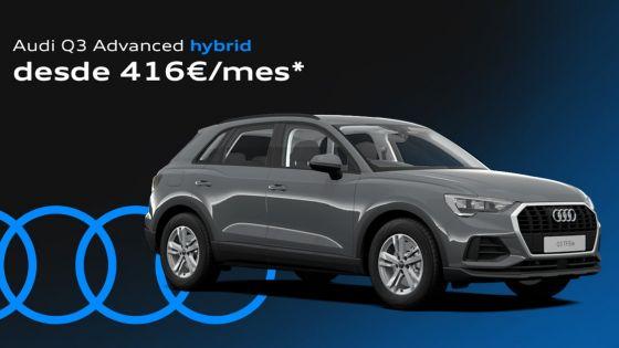 Audi Q3 desde 416€/mes