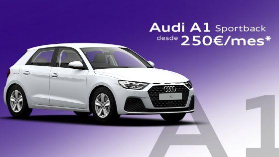 Audi A1 Sportback desde 250€/mes