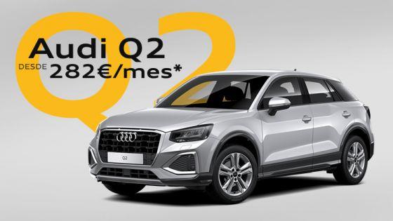 Audi Q2 por 282€/mes*