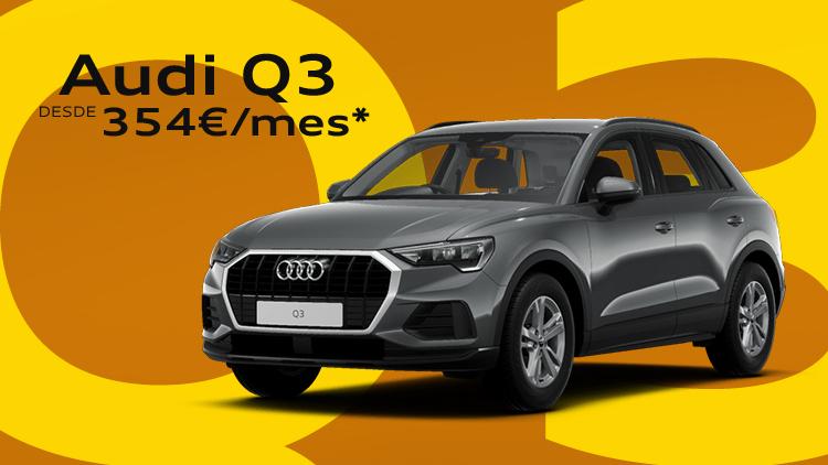 Audi Q3 TFSIe desde 354€/mes*