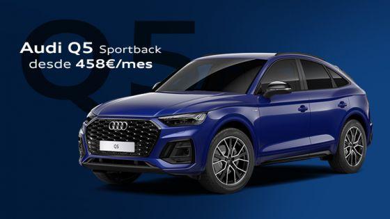 Audi Q5 Sportback por 458€/mes*