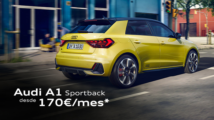 Audi A1 Sportback desde 170€/mes*