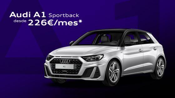 Audi A1 Sportback desde 226€/mes*