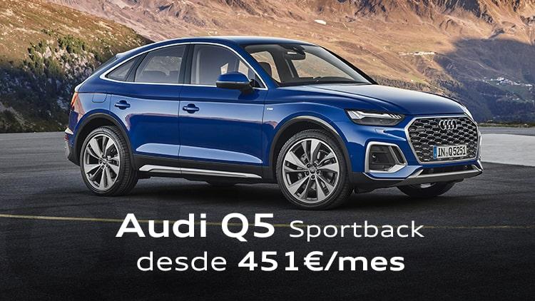 Audi Q5 Sportback por 451€/mes*